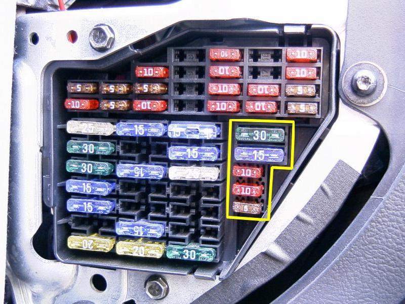 Passat 3b Sigorta Numaraları Ve A 231 ıklamaları