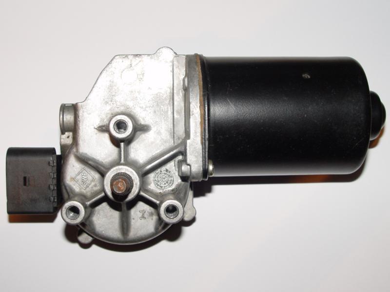 Wischermotor und Wischergestänge