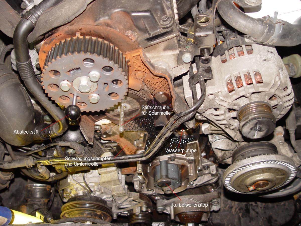 Werkzeug F 252 R Zahnriemenwechsel An Allen 1 9 Pd Tdi Motoren