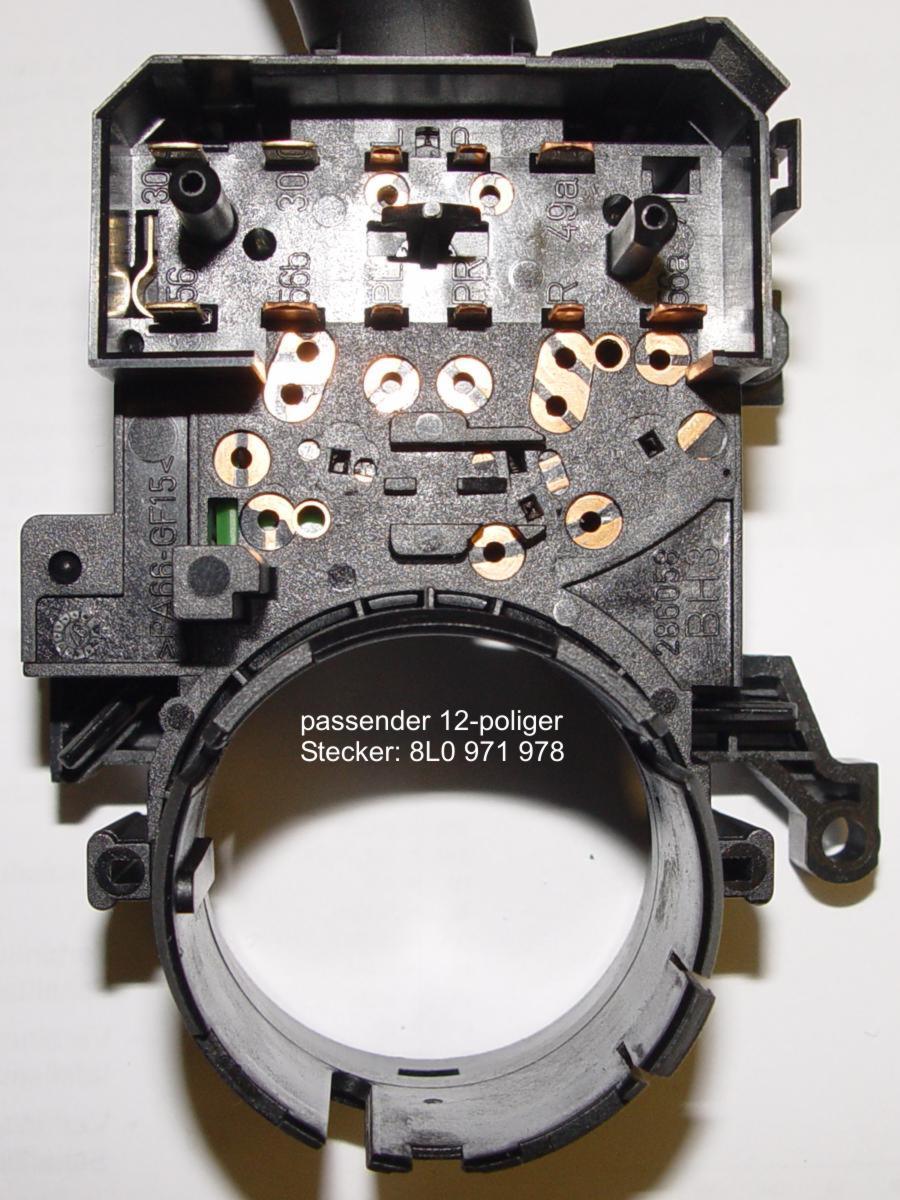 Tempomat - Geschwindigkeitsregelanlage (GRA) - Lenkstockschalter
